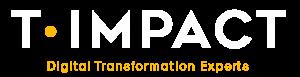 Negative t-impact logo